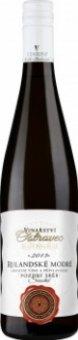 Víno Rulandské modré Vinařství Ostrovec - pozdní sběr