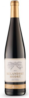 Víno Rulandské modré Vinný sklep Sovín - výběr z hroznů