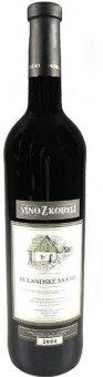 Víno Rulandské modré Víno z Kobylí - pozdní sběr