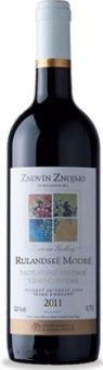 Víno Rulandské modré Znovín Znojmo - moravské zemské