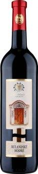 Víno Rulandské modré Žudro kříž Vinařství Mutěnice