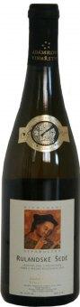 Víno Rulandské šedé Adámkovo vinařství - výběr z hroznů