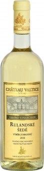 Víno Rulandské šedé Gastro Collection Chateau Valtice - výběr z hroznů
