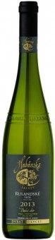 Víno Rulandské šedé Habánské sklepy - pozdní sběr