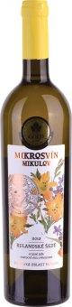 Víno Rulandské šedé  Mikrosvín Mikulov - pozdní sběr