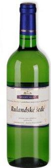 Víno Rulandské šedé Modrý sklep Šaldorf