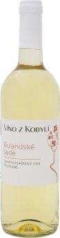 Víno Rulandské šedé Víno z Kobylí