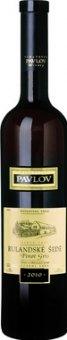 Víno Rulandské šedé Vinařství Pavlov - pozdní sběr