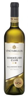 Víno Rulandské šedé Sommelier Club Víno Mikulov - přívlastkové