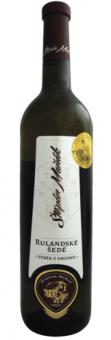 Víno Rulandské šedé Vinařství Štěpán Maňák - výběr z hroznů