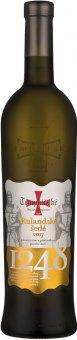 Víno Rulandské šedé Templářské sklepy Čejkovice - pozdní sběr