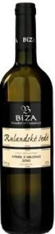 Víno Rulandské šedé Vinařství Bíza - výběr z hroznů