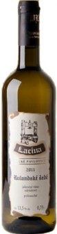Víno Rulandské šedé Vinařství Lacina