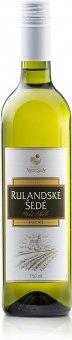 Víno Rulandské šedé Vinařství Nové Sady