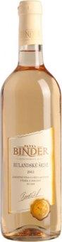Víno Rulandské šedé Vinařství Pavel Binder - výběr z hroznů