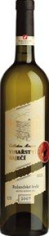 Víno Rulandské šedé Vinařství Zaječí