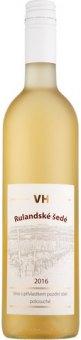 Víno Rulandské šedé Vinice Hranice - pozdní sběr