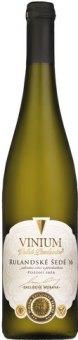 Víno Rulandské šedé Vinium Velké Pavlovice - pozdní sběr