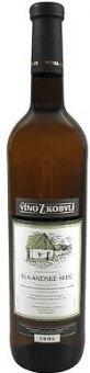 Víno Rulandské šedé Víno z Kobylí - pozdní sběr