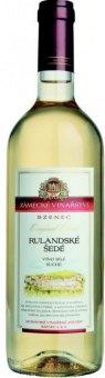 Víno Rulandské šedé Zámecké vinařství Bzenec