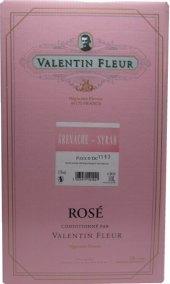 Víno růžové Cuvée Valentin Fleur - bag in box