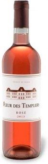 Víno růžové Longuedoc Roussillon Fleur des Templiers