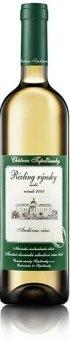 Víno Ryzling rýnský Chateau Topolčianky - archivní