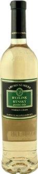 Víno Ryzlink rýnský Archivní sklep Vinařství Ludwig - pozdní sběr