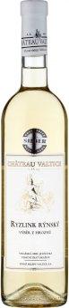 Víno Ryzlink rýnský Chateau Valtice - výběr z hroznů