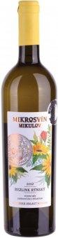 Víno Ryzlink rýnský Mikrosvín Mikulov - pozdní sběr