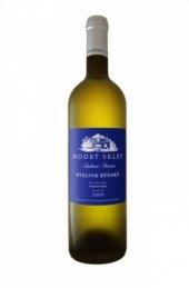 Víno Ryzlink rýnský Modrý sklep Šaldorf - pozdní sběr