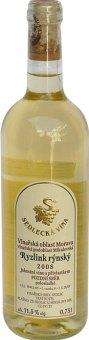 Víno Ryzlink rýnský Sedlecká vína - pozdní sběr