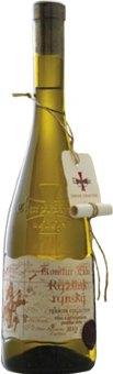 Víno Ryzlink rýnský Terroir Collection Komtur Ekko Templářské sklepy Čejkovice - pozdní sběr