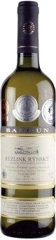 Víno Ryzlink rýnský Vinařství Baloun - pozdní sběr