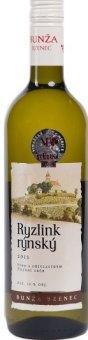 Víno Ryzlink rýnský Vinařství Bzenec Bunža - pozdní sběr