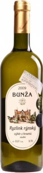 Víno Ryzlink rýnský Vinařství Bzenec Bunža - výběr z hroznů