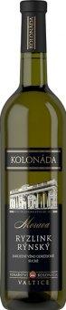 Víno Ryzlink rýnský Vinařství Kolonáda Valtice