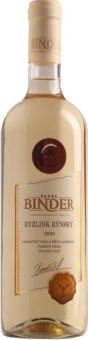 Víno Ryzlink rýnský Vinařství Pavel Binder - pozdní sběr