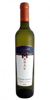 Víno Ryzlink rýnský Vinařství Štěpán Maňák - výběr z bobulí