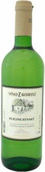 Víno Ryzlink rýnský Víno z Kobylí