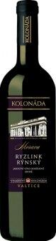 Víno Ryzlink vlašský Vinařství Kolonáda Valtice