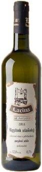 Víno Ryzlink vlašský Vinařství Lacina