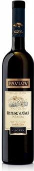 Víno Ryzlink vlašský Vinařství Pavlov - pozdní sběr