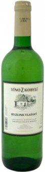 Víno Ryzlink vlašský Víno z Kobylí