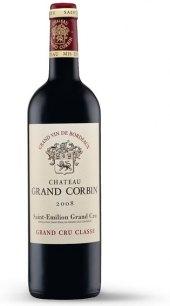 Víno červené Saint-Émilion 2008 Grand Cru Classé Chateau Grand Corbin