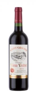 Víno červené Saint - Emilion 2012 Chateau Vieux Verdot