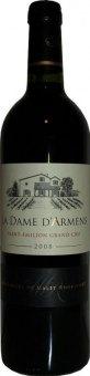 Víno červené Saint - Emilion Grand Cru La Dame D´Armens