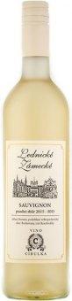 Víno Sauvignon Bio Lednické Zámecké Cibulka - pozdní sběr