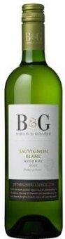 Víno Sauvignon Blanc Reserve B&G