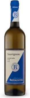 Víno Sauvignon Michaela Balounová - pozdní sběr